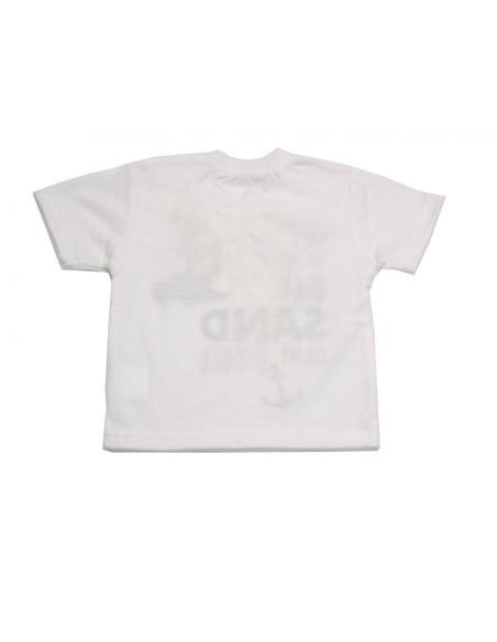 Comprar ropa bebe Camiseta manga corta barquito bebe niño