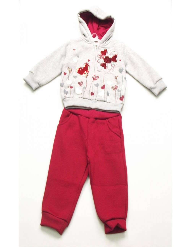 Ropa para bebe Chandal bebé niña