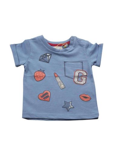 Ropa para bebe Camiseta diamantes bebé niña