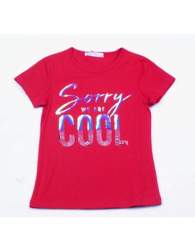 Comprar ropa bebe Camiseta manga corta cool niña