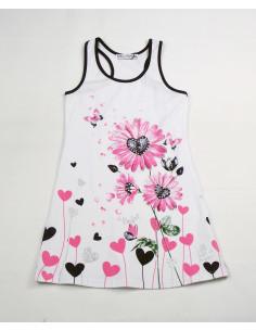 Vestido dibujo floral